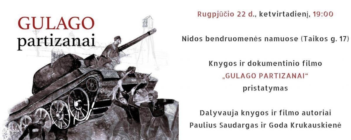 Gulago patrizanai pristatymas