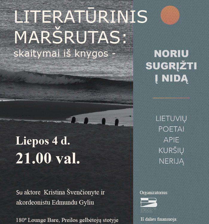 Literatųrinis maršrutas Preila